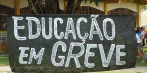– NOTA OFICIAL SOBRE A GREVE DAS EDUCADORAS NA EDUCAÇÃO INFANTIL.