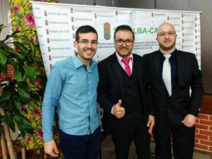 Vereador Rafael Bueno participa da posse do novo presidente do Senalba