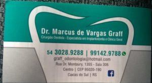 Dr. Marcus de Vargas Graff