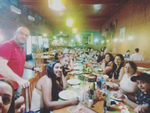 Festa de confraternização da diretoria do Senalba Caxias