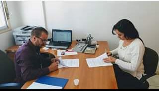 Assinatura do primeiro Acordo Coletivo da Educação Infantil Privada. A Escola de Educação Infantil Primeiro Degrau.  Valorização do profissional é valorização e cuidados com as crianças.