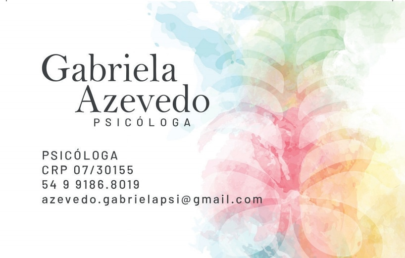 Gabriela Azevedo – Psicóloga