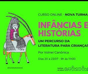 Instituto de Leitura Quindim promove curso online