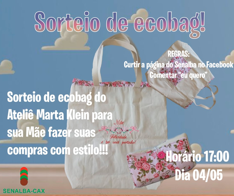 Sorteio de Ecobag