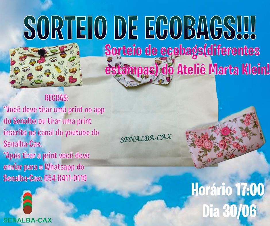 Sorteio de Ecobags